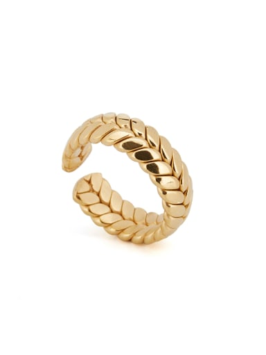 Personalized Gold Plated Titanium Gold Personalized Band band ring