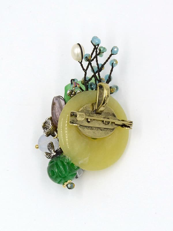 Fashion shell flower round jade pendant wholesale online fashion shell flower round jade pendant mozeypictures Gallery