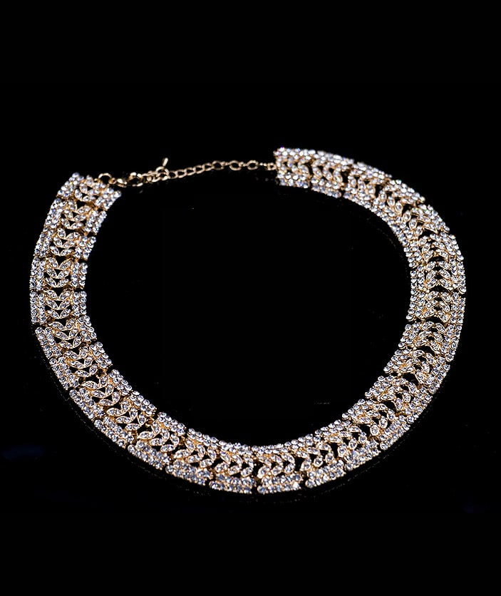 2018 2018 2018 2018 Cubic Glass Rhinestones Two Pieces Jewelry Set