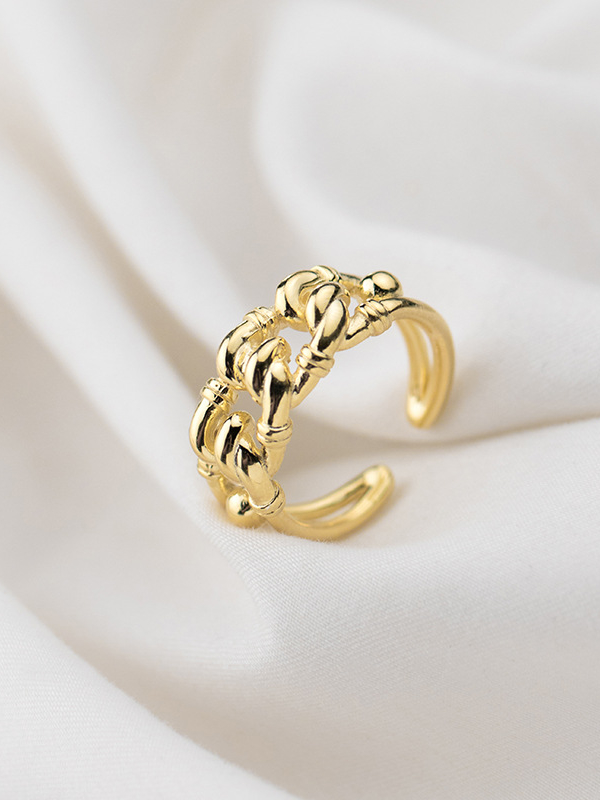 Acamifashion Fashion Mom Dad Stainless Steel Carving Ring Gift Party Wedding Cocktail Jewelry