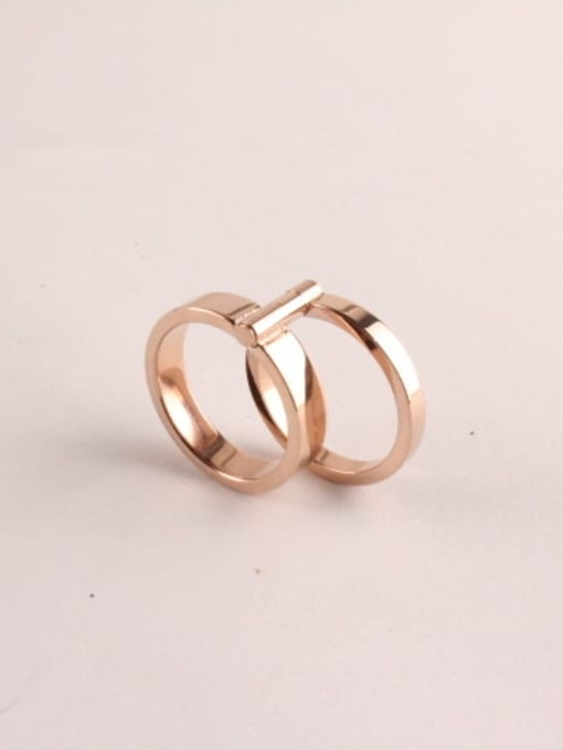 Rose Double 360 Degree Rotating Ring 0