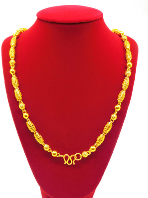 Neayou Men Exquisite Geometric Shaped Necklace 1