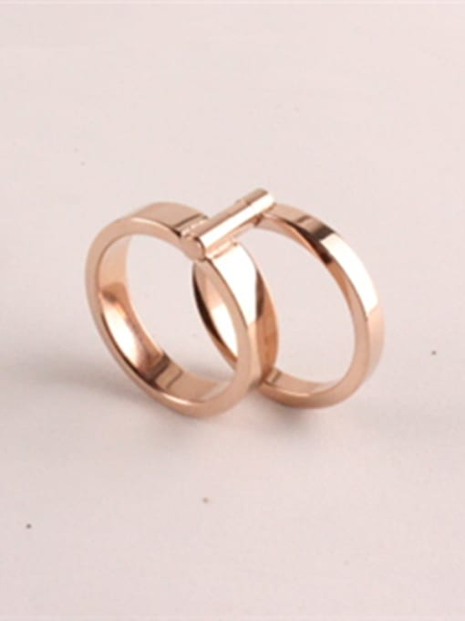 Rose Double 360 Degree Rotating Ring 1
