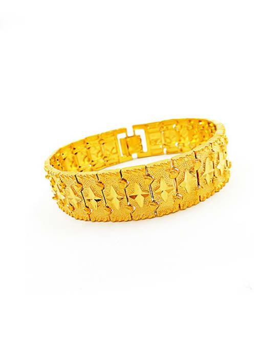 Neayou Exquisite Geometric Shaped Men Bracelet 0