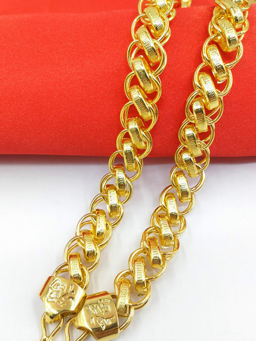Neayou Delicate Men Geometric Shaped Necklace 1