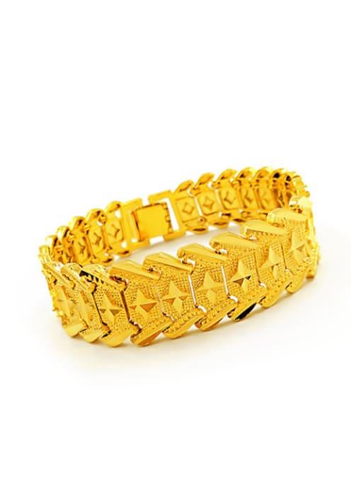 Neayou Exquisite Geometric Shaped Men Bracelet 2