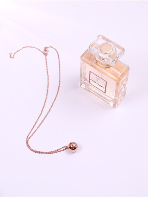 Rose Bells Pedant Clavicle Women Necklace 1