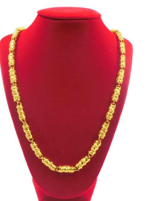 Neayou Dragon Pattern Cylinder Shaped Necklace 1