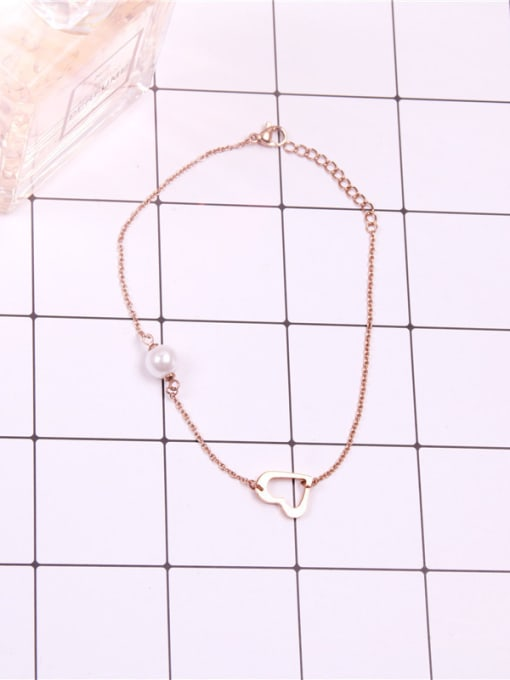 Rose Sweetly Exquisite Women Fashion Anklet 0