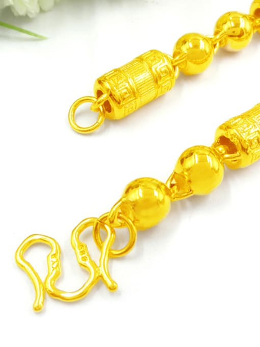 Neayou Gold Plated Geometric Men Necklace 1