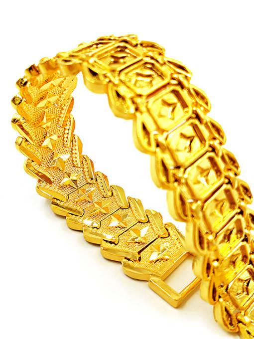 Neayou Exquisite Geometric Shaped Men Bracelet 1