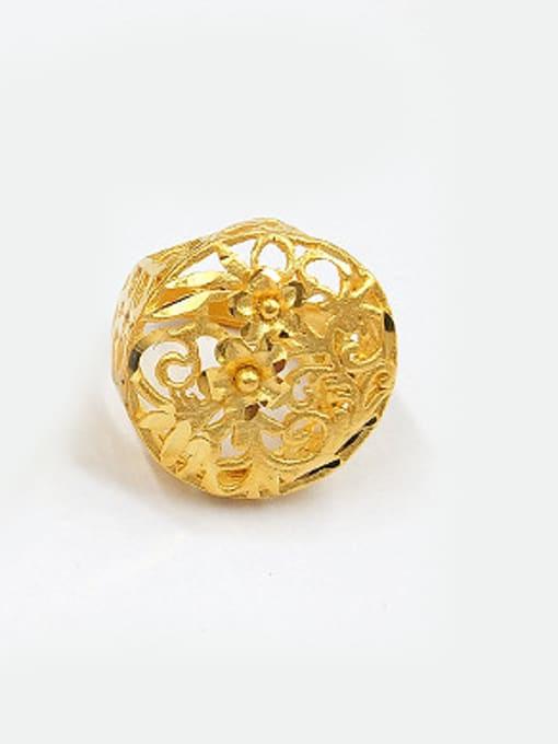 Neayou Unisex Hollow Flower Shaped Ring 0