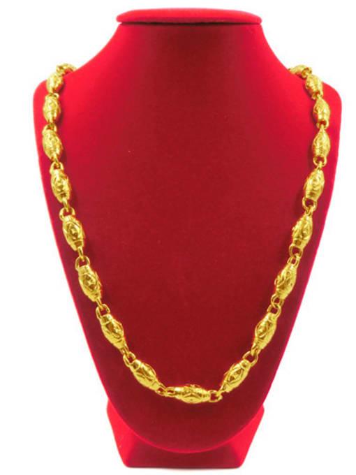 Neayou Men Delicate Geometric Shaped Necklace 1