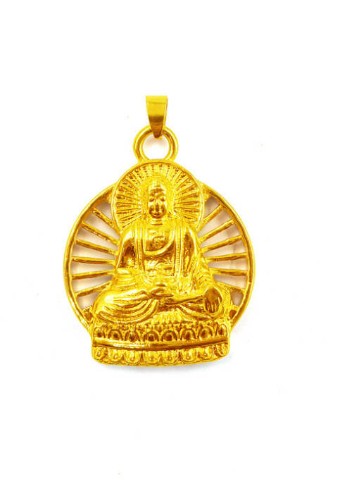 golden Men Personality Chinese Elements Pendant