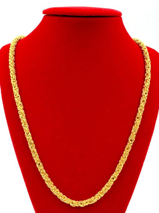 Neayou All-match O Shaped Men Necklace 1