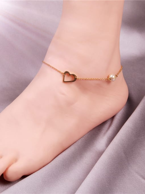 Rose Sweetly Exquisite Women Fashion Anklet 1