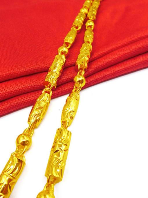 Neayou Men Gold Plated Brass Necklace 1
