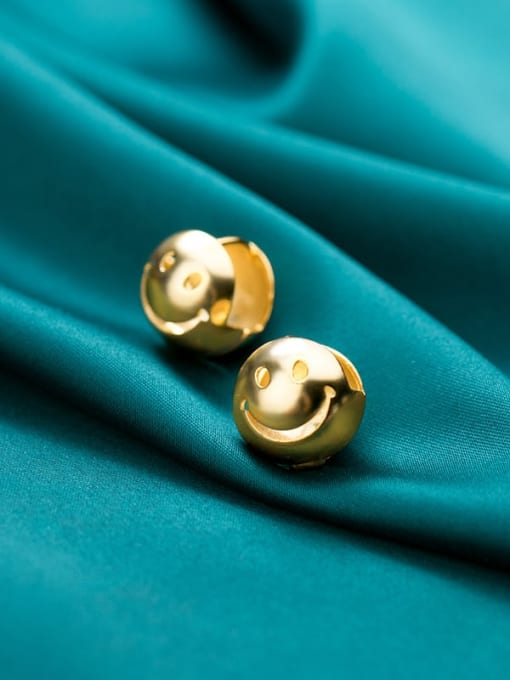 Rosh 925 Sterling Silver Ball Minimalist Stud Earring 1