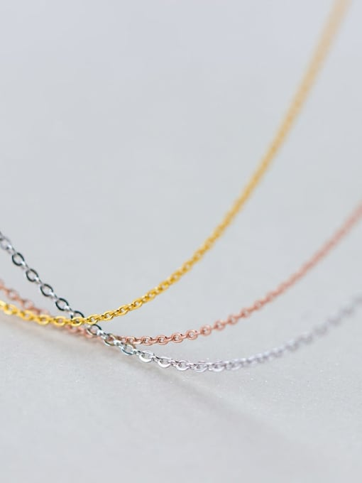 Rosh 925 Sterling Silver Minimalist Cable Chain 4
