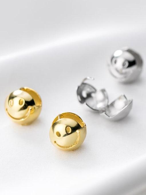 Rosh 925 Sterling Silver Ball Minimalist Stud Earring 3
