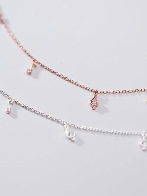 Rosh 925 Sterling Silver Round Minimalist Link Bracelet 3