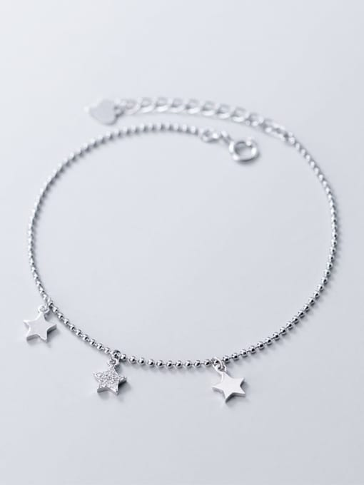Rosh 925 sterling silver star minimalist beaded bracelet 1