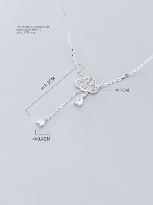 Rosh 925 sterling silver is full of clouds and small drops of water 3