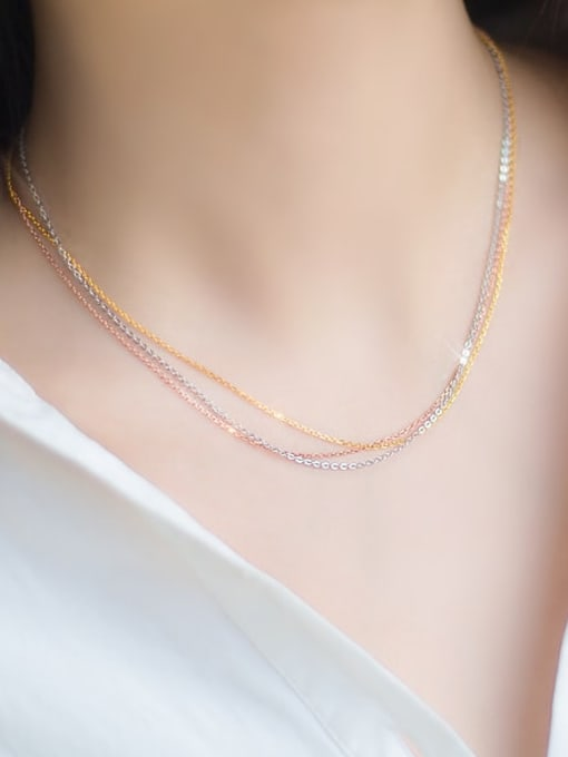 Rosh 925 Sterling Silver Minimalist Cable Chain 1