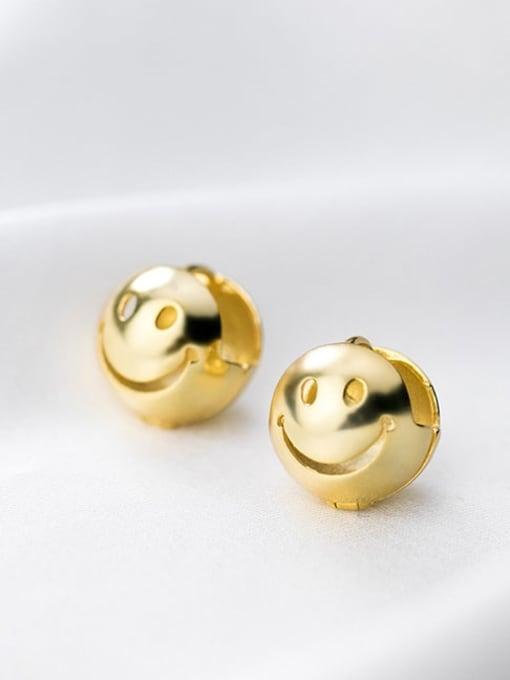 Rosh 925 Sterling Silver Ball Minimalist Stud Earring