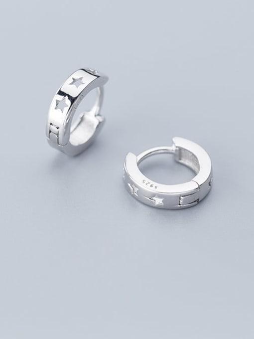 Rosh 925 Sterling Silver Star Minimalist Stud Earring 0