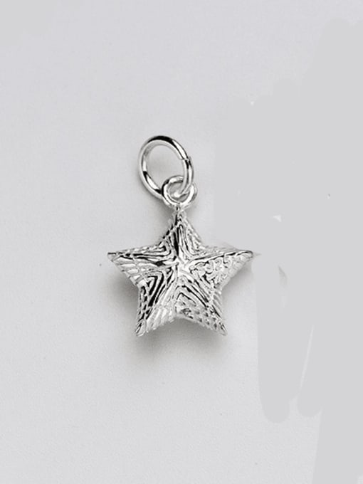 FAN 925 sterling silver star charm 16 * 13 * 6 mm 0