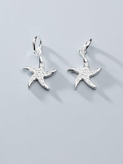 FAN 925 Sterling Silver star Charm Height : 14.5 mm , Width: 11.5 mm 0