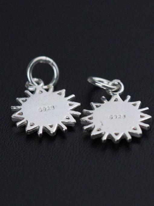 FAN 925 Sterling Silver Charm Diameter : 10 mm 1