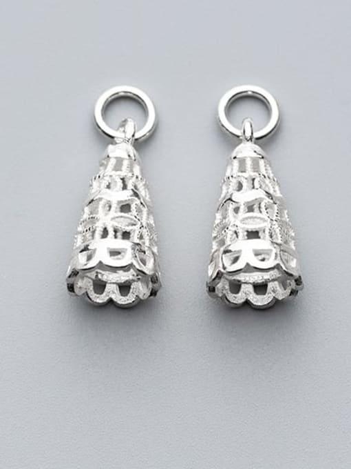 FAN 925 Sterling Silver Charm Height : 9 mm , Width: 9 mm