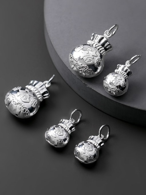 FAN 925 Sterling Silver Ball Charm 1