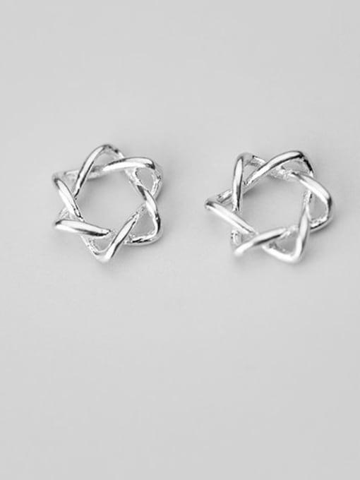 FAN 925 Sterling Silver star Charm Height : 9 mm , Width: 9 mm