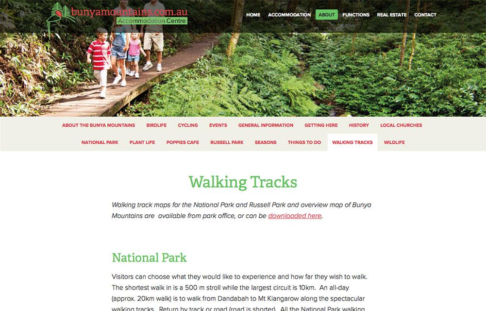 Bunya Mountains Accommodation Centre Website 3