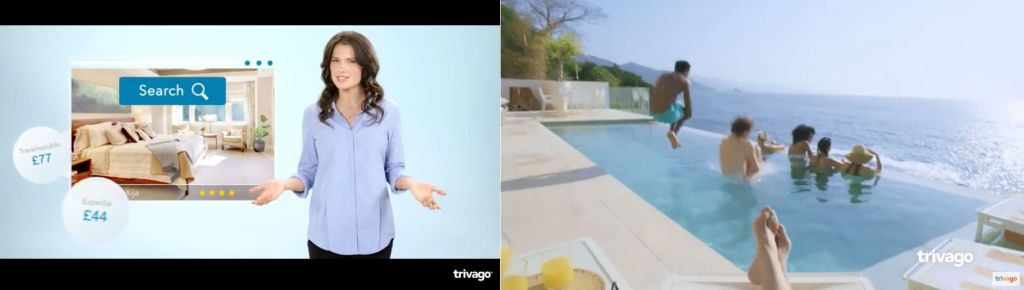 Trivago Girl Out, Experience In