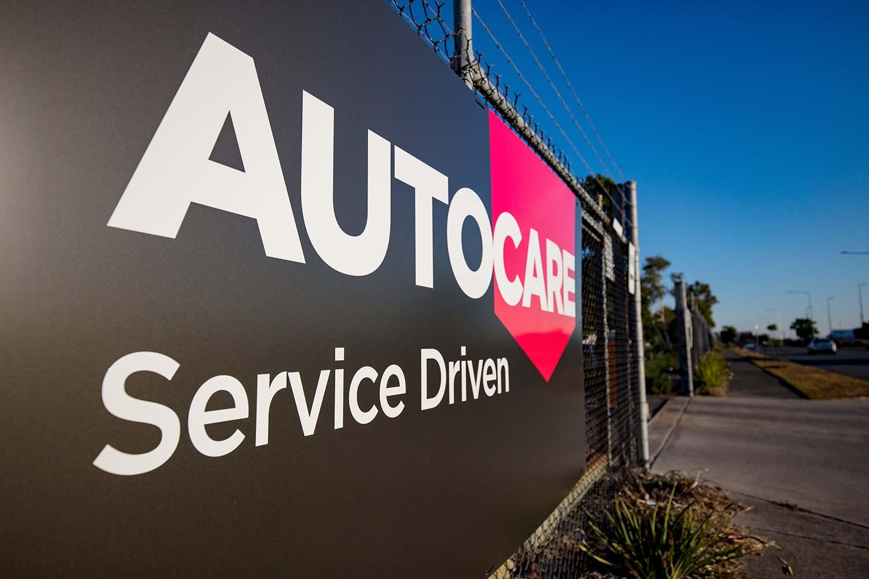 Autocare Services Signage