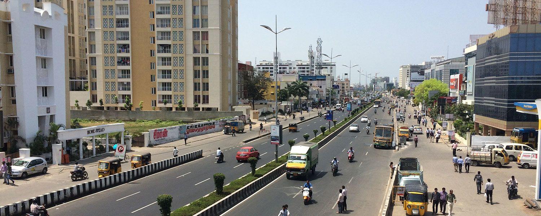 The OMR, Chennai, India