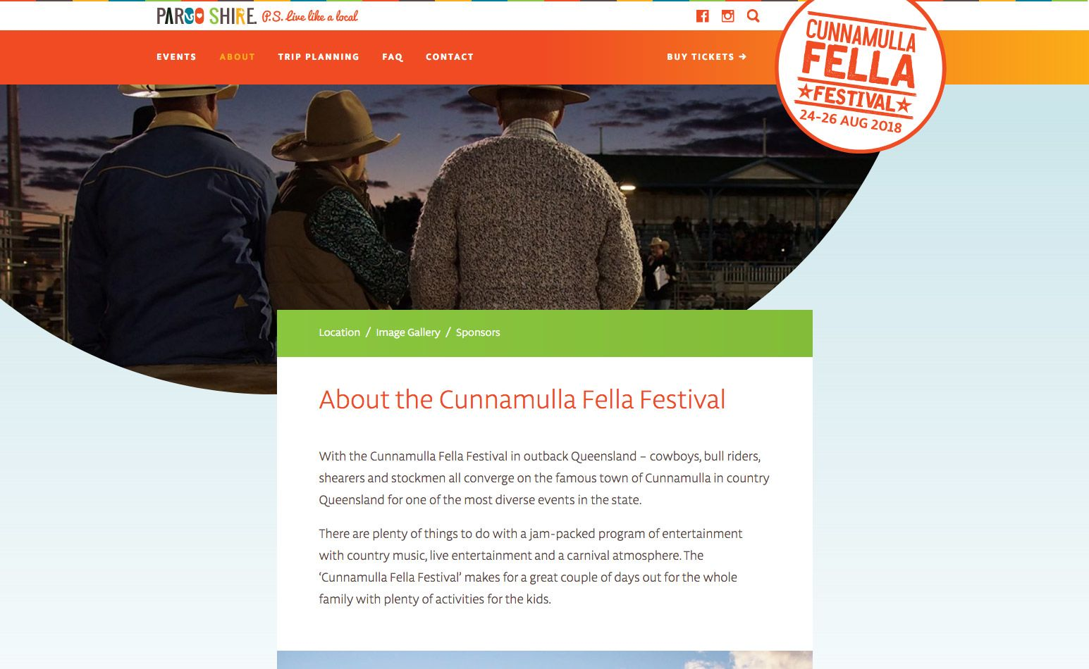 Cunnamulla Fella Festival Website