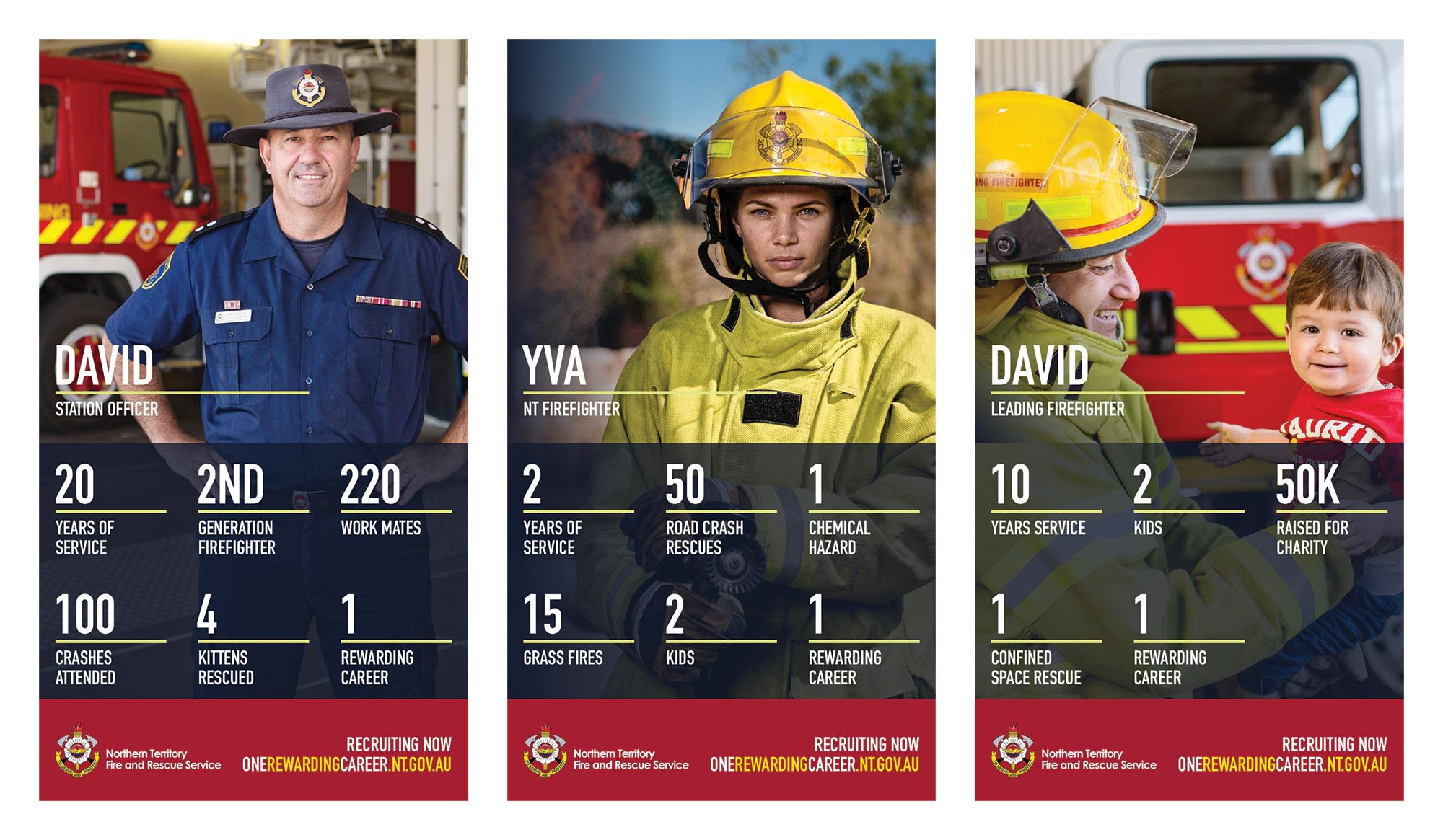 NT Fire and Rescue Service Posters