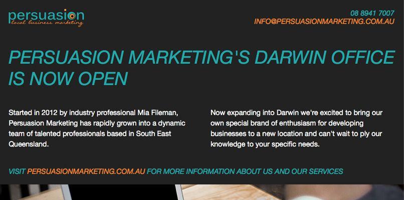 Persuasion Marketing Darwin