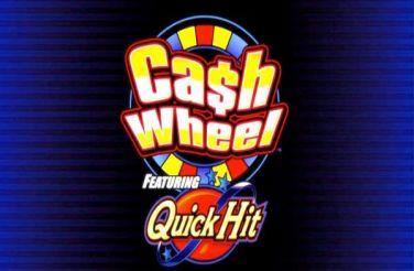 Quick Hit Cash Wheel