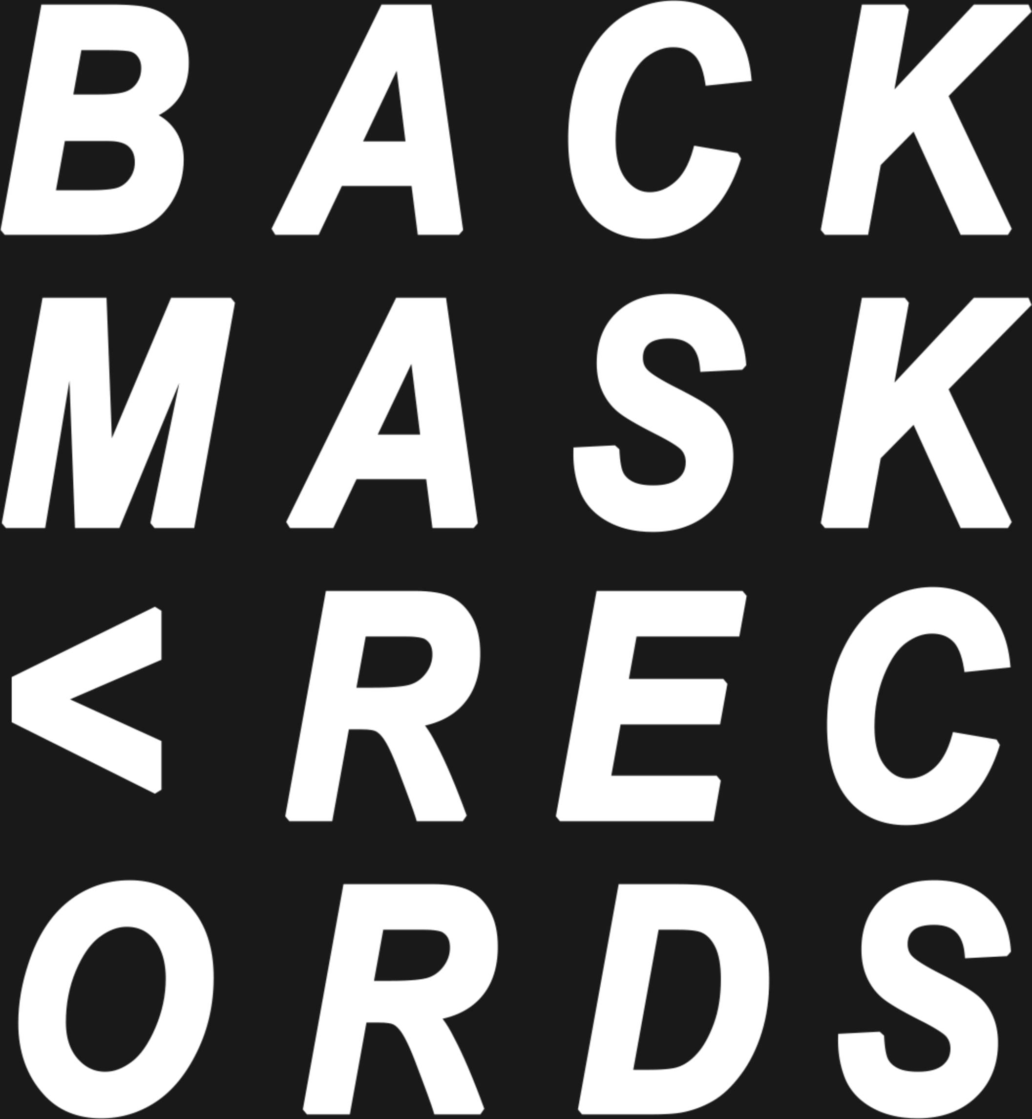 Backmask records logo backmask records logo 1528225757