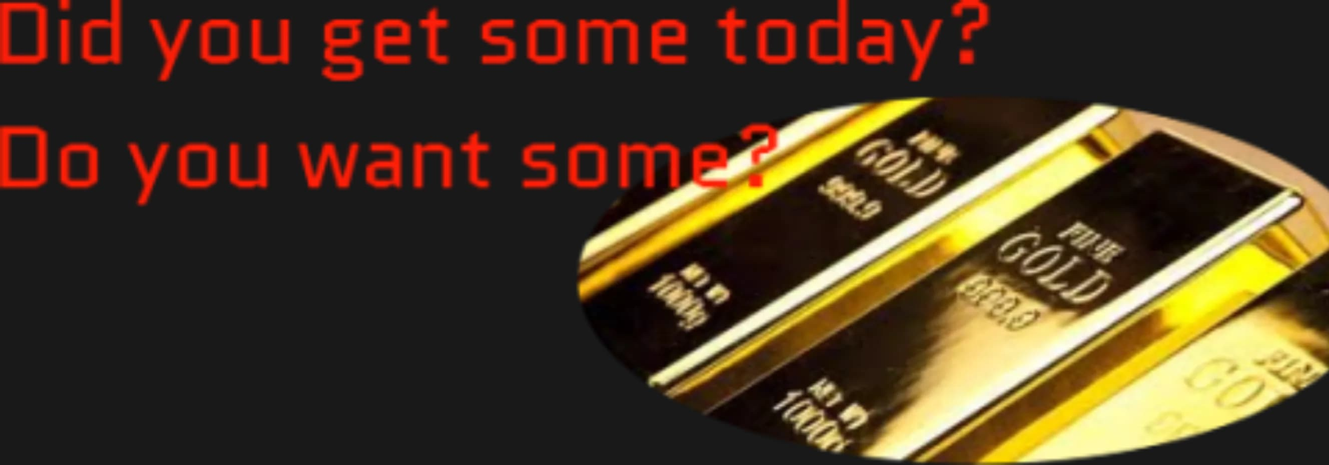 Crypto gold and freedom get some gold 1537401625