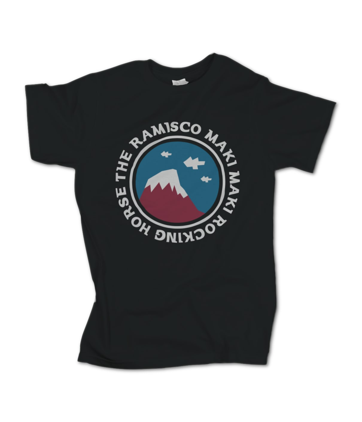 The Ramisco Maki Maki Rocking Horse T-Shirt