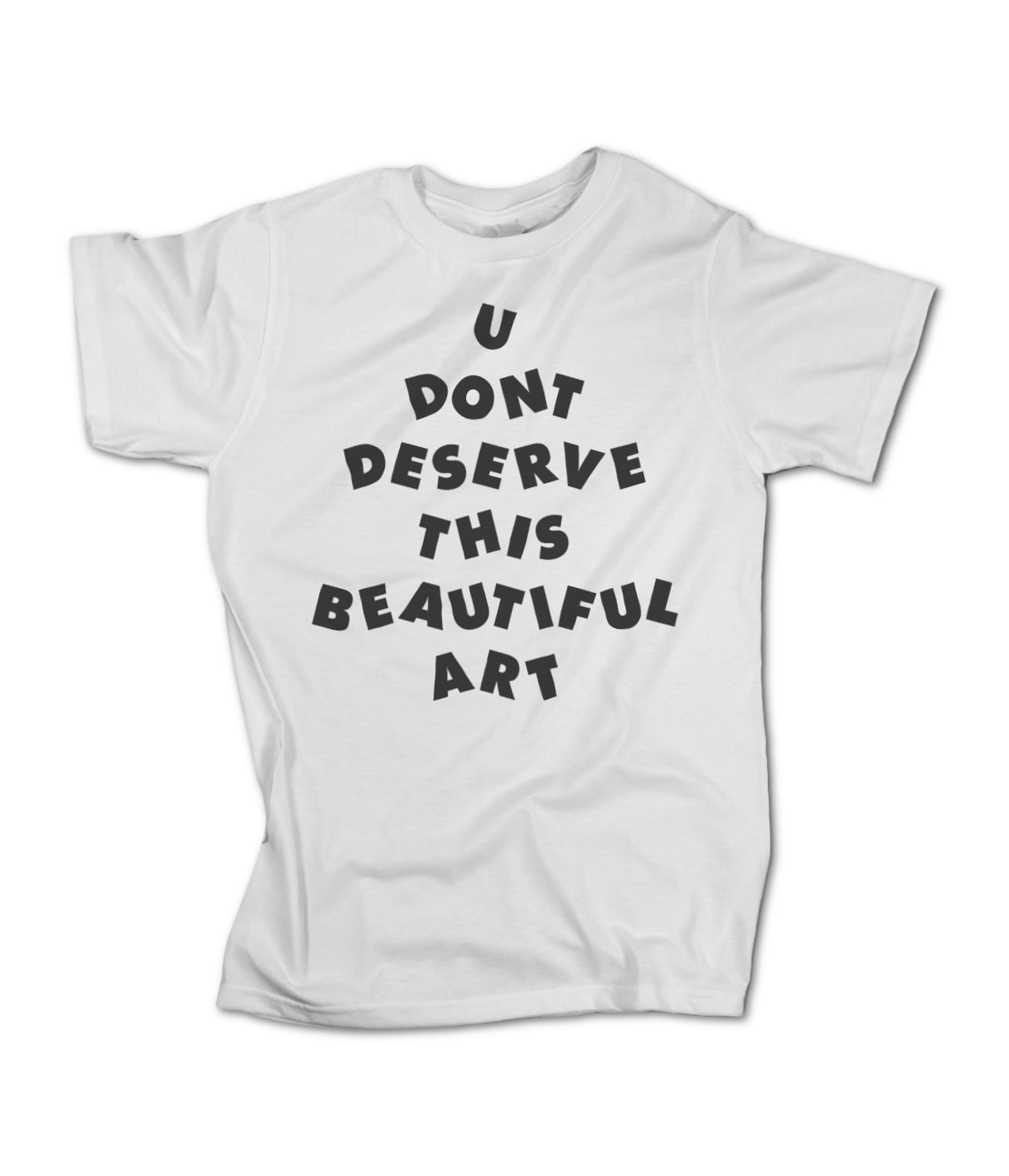 U don t deserve this beautiful art uddtba logo 1514688270