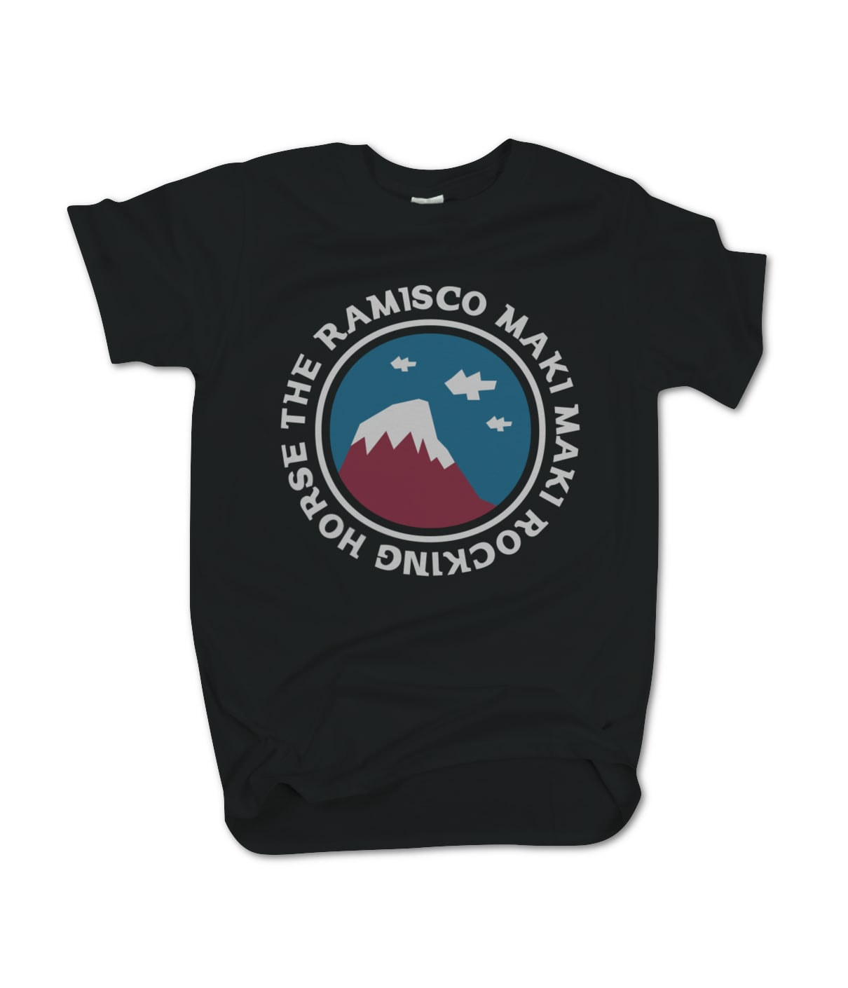 The ramisco maki maki rocking horse mountain tee sk8aha
