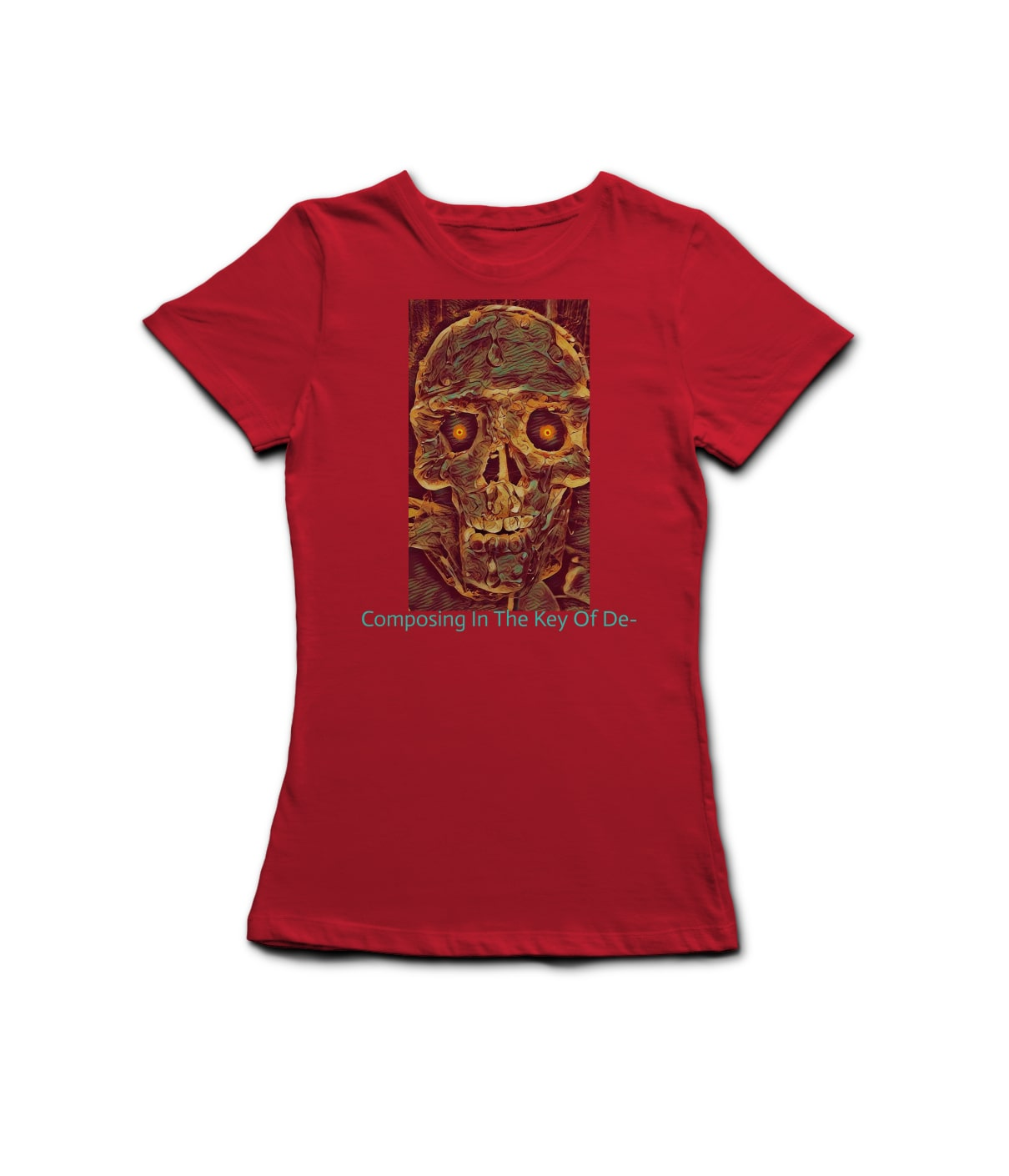 L t shirt red jomjry